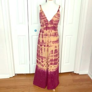 Gypsy 05 tie dye maxi dress